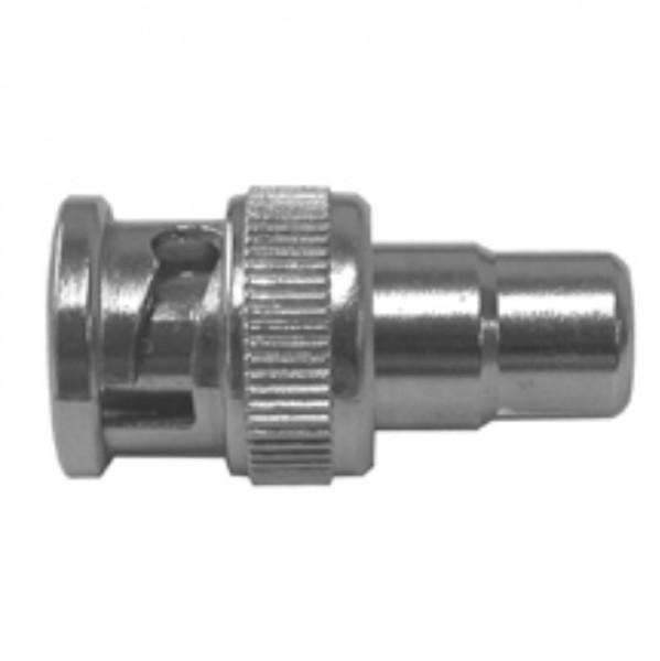 SANTEC Adapter Cinch-Buchse/BNC-Stecker, CIN-BNC-TG/10