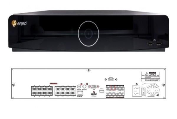 eneo IER-38R160005A, 16 Kanal Netzwerk-Videorekorder