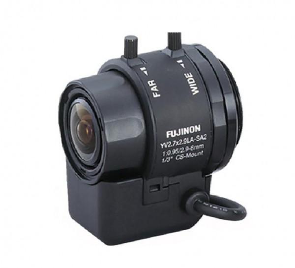 "FUJINON 1/3"" DC-Objektiv 2,9-8mm YV2.7x2.9LR4D-SA2L"