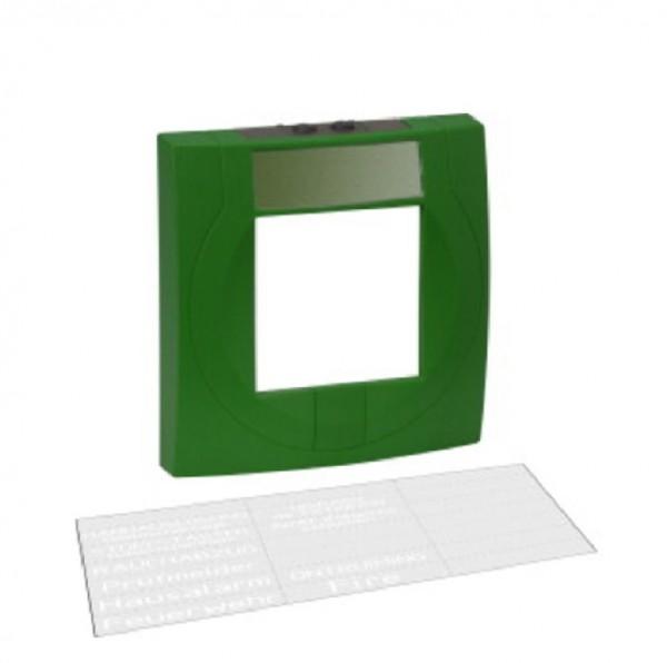 ESSER grünes Melder-Gehäuse Kunststoff mit Glas, 704904