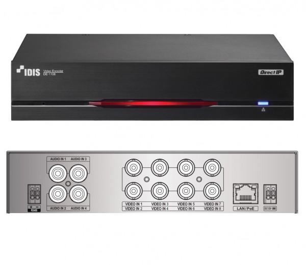 IDIS DE-1108, 8-Kanal-Video-Encoder DirectIP