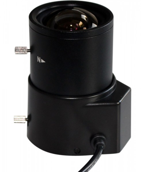 "SANTEC 14132DNC, 1/3"" Tag/Nacht Objektiv 2,8-12mm"