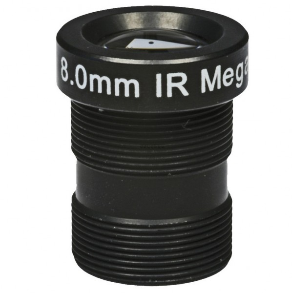 "ASL-Ademco ASL-MP08IR, 1/3"" Wechselobjektiv, 8mm"