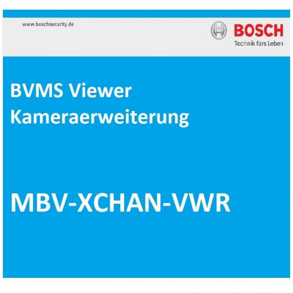 BOSCH MBV-XCHAN-VWR, BVMS Viewer Kameraerweiterung