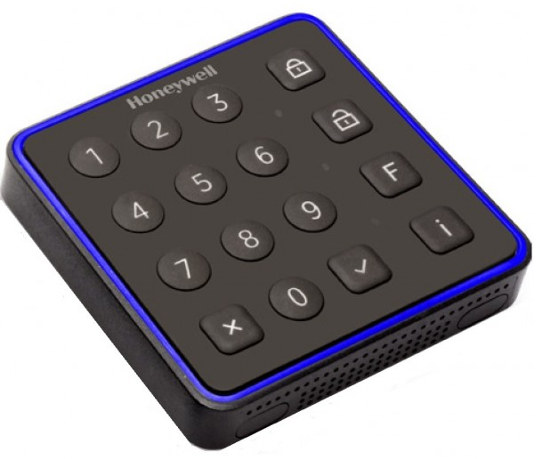 Honeywell 027911, luminAXS proX Leser RS-485 mit 16 Tasten
