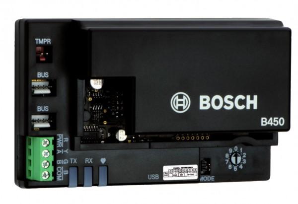 BOSCH B450, Conettix Übertragungsgerät-Schnittstelle