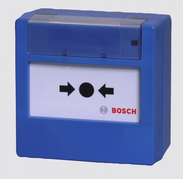 BOSCH FMC-300RW-GSGBU, Handfeuermelder blau mit Glasscheibe