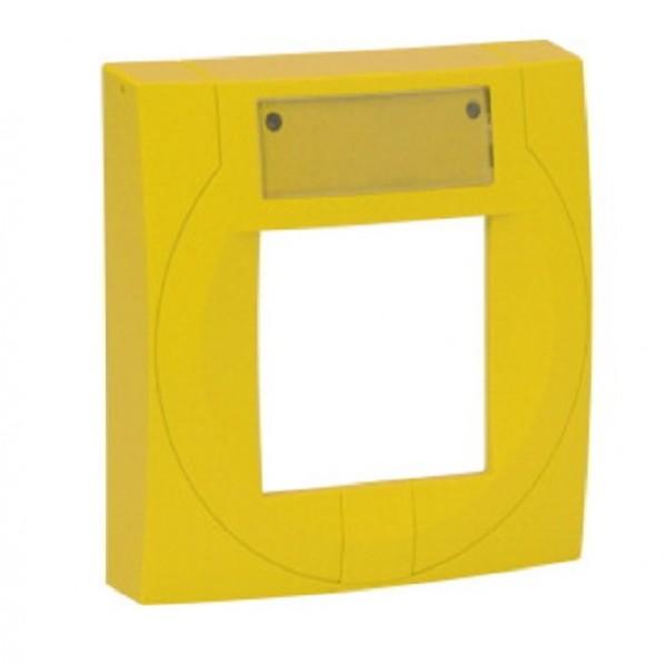 ESSER gelbes Gehäuse f. kleines MCP Elektronikmodul, 704952