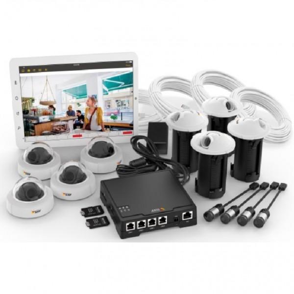 AXIS IP-Video-Komplett-Set F 34 Surveillance System