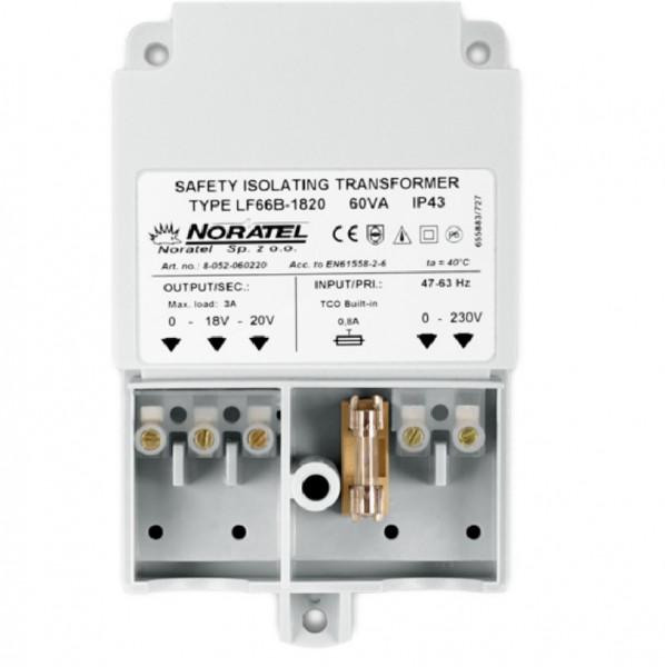 Pulsar AWT682, Transformator 230V / 20V AC