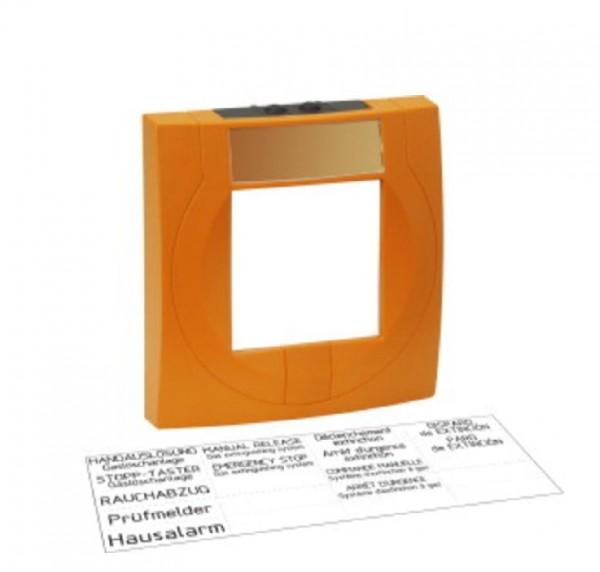 ESSER 704903, oranges Melder-Gehäuse Kunststoff mit Glas