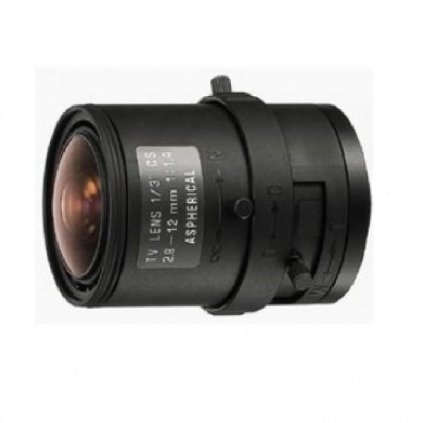 """TAMRON 13VM2812ASII, 1/3"""" Varioobjektiv 2,8-12 mm manuell"""