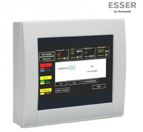 ESSER Touchscreen Anzeige- und Bedienteil (aP), FX808460