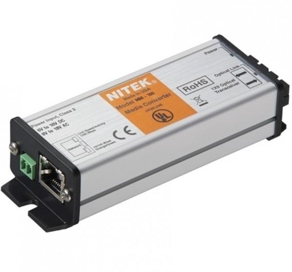 NITEK MM-100, Medienkonverter 1 Port Multi Mode SC