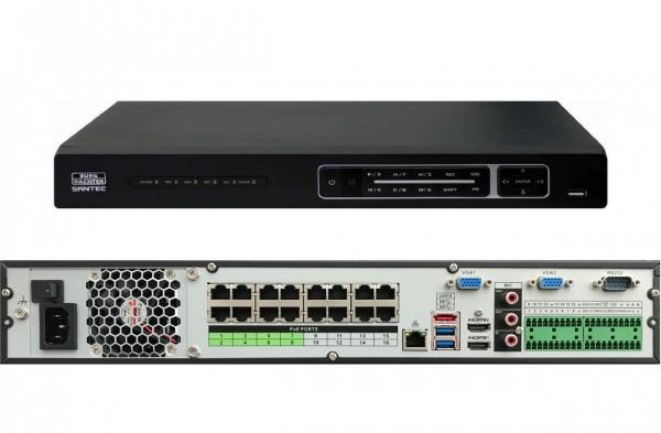 SANTEC SNVR-36444E, 64-Kanal-4K/H.265 NW-Rekorder