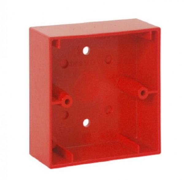 ESSER 704980, rotes Montagegehäuse aP für kl. MCP Elektronikmodul