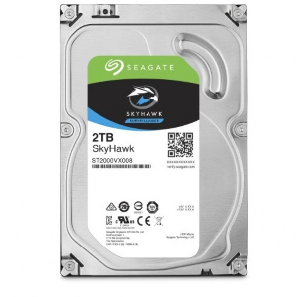 """Seagate ST2000VX008, 3,5"""" Festplatte 2 TB für DVR"""