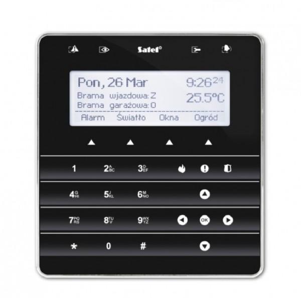 SATEL INT-KSG (DE), Sensor-Bedienteil, schwarz