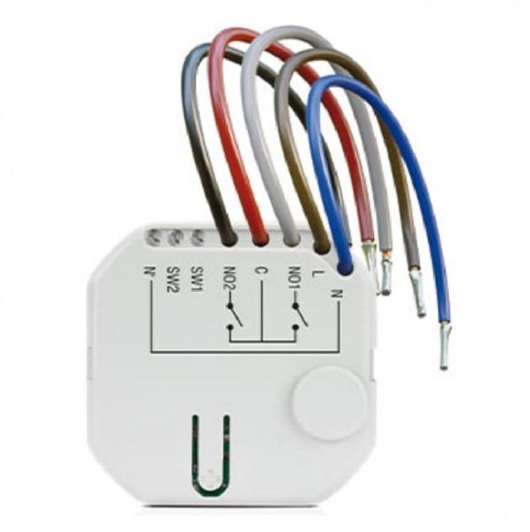 SATEL ASW-210, Funk-Schaltmodul für Hohlwanddosen