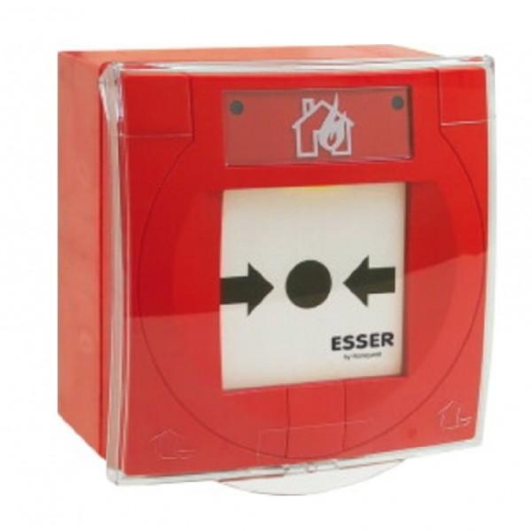 ESSER 804961, IQ8MCP Handfeuermelder, rot mit Glasscheibe, IP66
