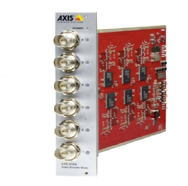 AXIS Q7436, 6-Kanal Netzwerk Video Server Einschubkarte