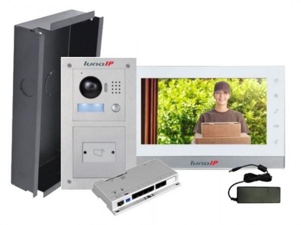 lunaIP Video-Türsprechanlage, IP-Modularpaket RFID UP