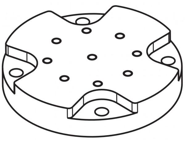 BOSCH EXS-ADPT, Adapter zur Montage auf MIC-Zubehör
