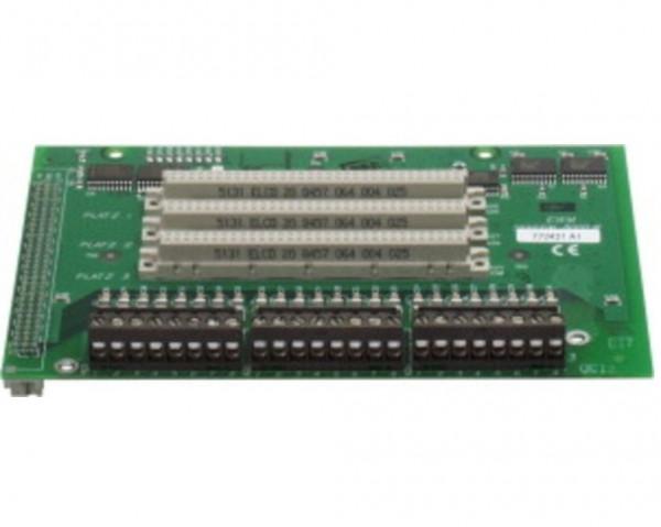 ESSER 772476, Erweiterungsmodul mit 3 Mikromodulsteckplätzen